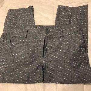 Ann Taylor 16 Curvy Crop Pants